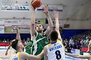 Fesenko<br /> Betaland Capo d'Orlando - Sidigas Avellino <br /> Campionato Basket Lega A 2017-18 <br /> Capo d'Orlando 22/04/2018<br /> Foto Ciamillo-Castoria