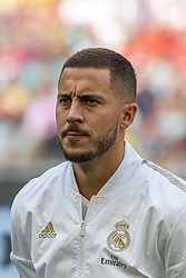 30.07.2019, Allianz Arena, Muenchen, GER, Audi Cup, Real Madrid vs Tottenham Hotspur, im Bild Eden Hazard (Real Madrid) // during the Audi Cup Match between Real Madrid and Tottenham Hotspur at the Allianz Arena in Muenchen, Germany on 2019/07/30. EXPA Pictures © 2019, PhotoCredit: EXPA/ Lukas Huter