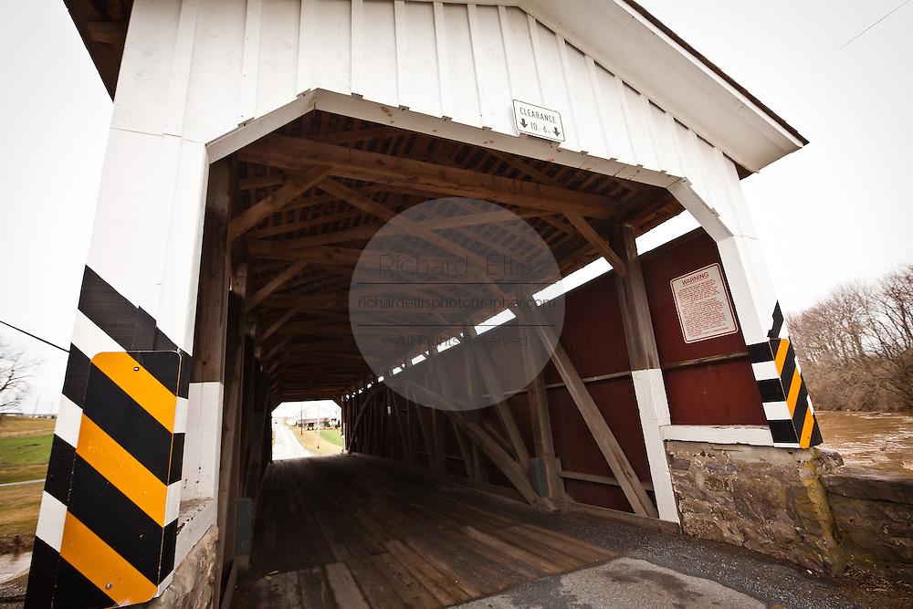 Weaver's Mill Covered Bridge Blue Ball, PA