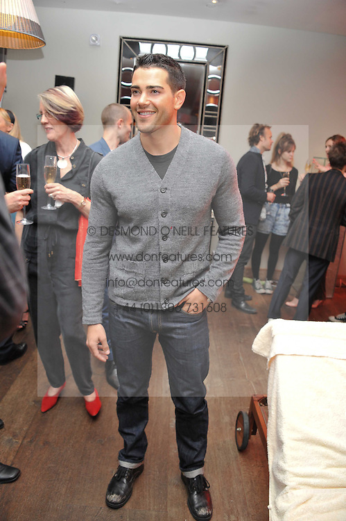 Actor JESSE METCALFE at a pool party to celebrate the UK launch of the Omega Ladymatic Collection held at the Haymarket Hotel, Haymarket, London on 16th June 2011.