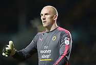 Wolverhampton Wanderers goalkeeper John Ruddy during the EFL Sky Bet Championship match between Leeds United and Wolverhampton Wanderers at Elland Road, Leeds, England on 7 March 2018. Picture by Paul Thompson.