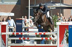 370 - Eesebelle - Lansink Joey<br /> 5 Jarige Finale Springen<br /> KWPN Paardendagen - Ermelo 2014<br /> © Dirk Caremans