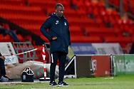 Southend United Manager Chris Powell  during the EFL Sky Bet League 1 match between Doncaster Rovers and Southend United at the Keepmoat Stadium, Doncaster, England on 12 February 2019.