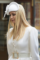 © Licensed to London News Pictures. 03/06/2019. London, UK. Ivanka Trump visits Westminster Abbey on the first day of a three day state visit to the UK. Photo credit: Ray Tang/LNP