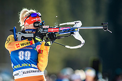 Maren Hammerschmidt (GER) during the Women 15 km Individual Competition at day 2 of IBU Biathlon World Cup 2019/20 Pokljuka, on January 23, 2020 in Rudno polje, Pokljuka, Pokljuka, Slovenia. Photo by Peter Podobnik / Sportida