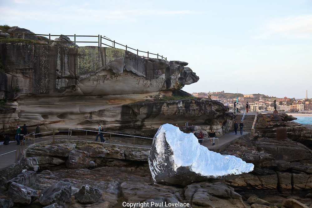 Sculpture By The Sea, Bondi, Sydney..The world's largest annual free-to-the-public outdoor sculpture exhibition, Sculpture by the Sea, Bondi  was launched today 18.10.12..The Commodification of Imagination.