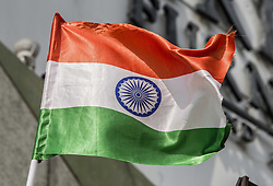 August 15, 2017 - New Delhi, Delhi, India - Flag of India, taken on India's Independence Day. (Credit Image: © Sachelle Babbar via ZUMA Wire)