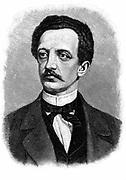 Ferdinand Lasalle (1825-1864) German social democrat. First President of Universal German Workmen's Union, 1862. Engraving after a photograph