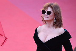 Susan Sarandon arriving at Les Fantomes d'Ismael screening and opening ceremony held at the Palais Des Festivals in Cannes, France on May 17, 2017, as part of the 70th Cannes Film Festival. Photo by Aurore Marechal/ABACAPRESS.COM