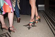 CAMILLA ELPHICK; GERALDINE DELEMME, Shoes: Pleasure and Pain. V & A Museum. South Kensington, London. 10 June 2015.