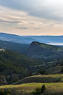 Layer Cake Mountain in Kelowna, British Columbia, Canada