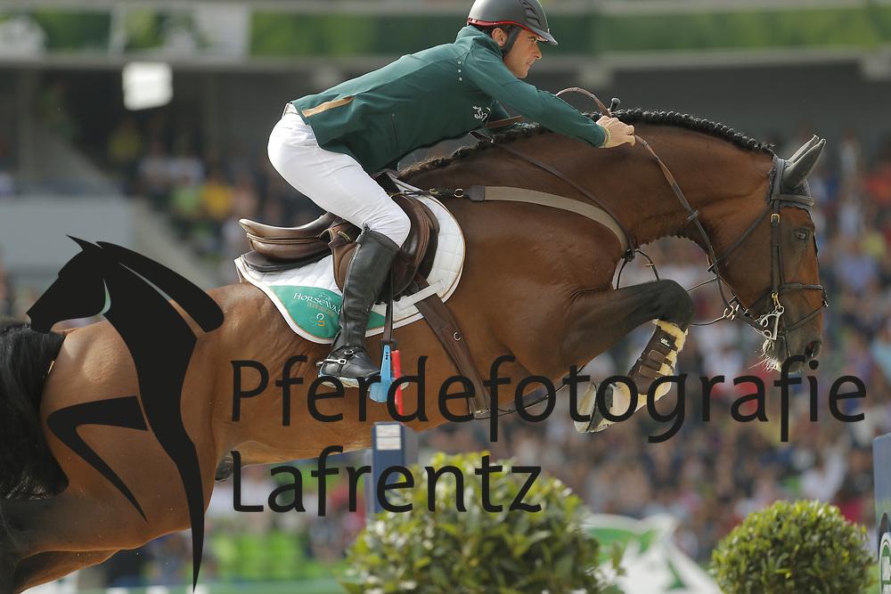 Lynch, Denis, All Star<br /> Normandie - WEG 2014<br /> Springen - Finale IV<br /> © www.sportfotos-lafrentz.de/ Stefan Lafrentz