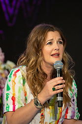 AU_1548250 - Sydney, AUSTRALIA  -   An Emotional Drew Barrymore meets Fans at Shopping Mall to celebrate the Australian launch of her cruelty-free cosmetics line.<br /> <br /> Pictured: Drew Barrymore<br /> <br /> BACKGRID Australia 13 APRIL 2019 <br /> <br /> BYLINE MUST READ: Brandon Voight / BACKGRID<br /> <br /> Phone: + 61 419 847 429<br /> Email:  sarah@backgrid.com.au