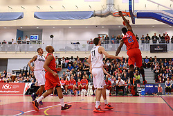 - Mandatory byline: Dougie Allward/JMP - 07966 386802 - 23/10/2015 - FOOTBALL - SGS Wise Campus - Bristol, England - Bristol Flyers v Manchester Giants - British Basketball League