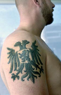 Nederland, Nijmegen, 4-10-2015Verschillende tattoos over NijmegenFOTO: FLIP FRANSSEN/ HH
