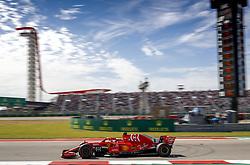 October 22, 2018 - Austin, United States - Motorsports: FIA Formula One World Championship; 2018; Grand Prix; United States, FORMULA 1 PIRELLI 2018 UNITED S GRAND PRIX , Circuit of The Americas , #5 Sebastian Vettel (GER, Scuderia Ferrari) , #5 Sebastian Vettel (GER, Scuderia Ferrari) (Credit Image: © Hoch Zwei via ZUMA Wire)