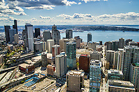 Downtown Seattle & Elliott Bay