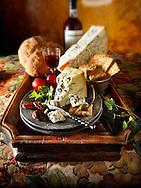 Traditional blue Stilton cheese