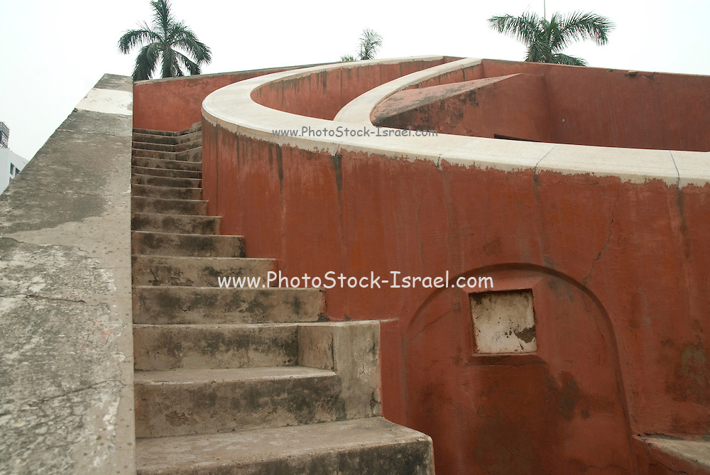 India, Delhi, The Jantar Mantar Observatory