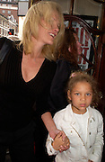 Elizabeth Murdoch and her daughter from her first marriage. Billy Elliot- The Musical opening night at the Victoria palace theatre and party afterwards at Pacha, London. 12 May 2005. ONE TIME USE ONLY - DO NOT ARCHIVE  © Copyright Photograph by Dafydd Jones 66 Stockwell Park Rd. London SW9 0DA Tel 020 7733 0108 www.dafjones.com