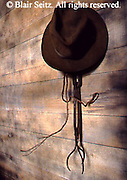 Hanging hat and tools, Blacksmith shop, Drake Well Museum, Titusville, Venago Co., PA