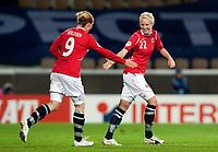 Fotball<br /> Semifinale EM kvinner 2009<br /> 04.09.2009<br /> Sverige v Norge<br /> Foto: Jussi Eskola/Digitalsport<br /> NORWAY ONLY<br /> <br /> Cecilie Pedersen, Isabell Herlovsen