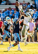 Dorman Cavaliers Dee Rice-Williams (2) breaks up a pass intended for Dutch Fork Silver Foxes Elijah Spencer (11) in the Class AAAAA State Championship Game at Williams-Brice Stadium in Columbia, SC. Dutch Fork wins their 4th straight state championship at Williams Brice Stadium. Photos ©JeffBlakePhoto.com