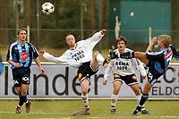 Apeldoorn, 24-03-2003<br />Testmatch between Fredrik Winsnes og Trond Fredrik Ludvigsen, Rosenborg (N) en Djurgarden (S).<br />Both teams are preparing for the next season in Sweden and in Norway.<br />Location: AGOVV, Apeldoorn, Netherlands