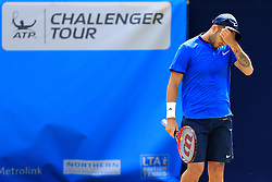 Dan Evans of Great Britain looks dejected  - Mandatory by-line: Matt McNulty/JMP - 31/05/2016 - TENNIS - Northern Tennis Club - Manchester, United Kingdom - AEGON Manchester Trophy