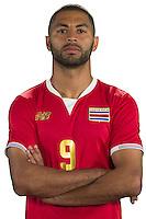 Football Conmebol_Concacaf - <br />Copa America Centenario Usa 2016 - <br />Costa Rica National Team - Group A - <br />Alvaro Saborio