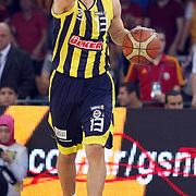 Fenerbahce Ulker's Sarunas JASIKEVICIUS during their Turkish Basketball league Play Off Final fourth leg match Galatasaray between Fenerbahce Ulker at the Abdi Ipekci Arena in Istanbul Turkey on Saturday 11 June 2011. Photo by TURKPIX