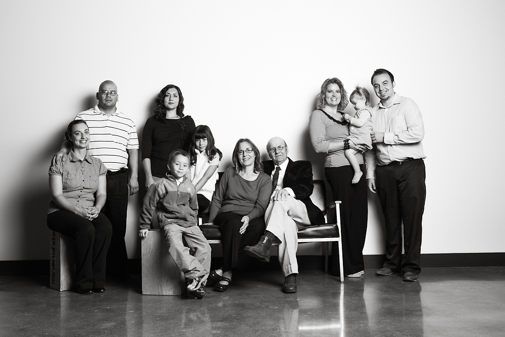 16 September 2012- The Privitera family is photographed at minorwhite studios.