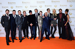 The cast of The Kingsman attending the World Premiere of Kingsman: The Golden Circle, at Cineworld in Leicester Square, London. Picture Date: Monday 18 September. Photo credit should read: Ian West/PA Wire