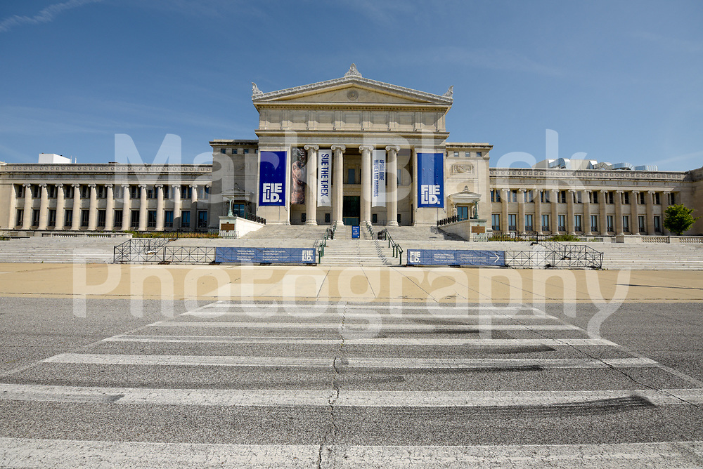 The natural history Field Museum in the museum campus along the lakefront in Chicago.<br /> Photo by Mark Black