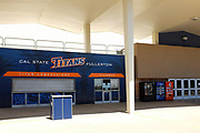 Titan Gym Ticket Booth and Concession Stand on Campus at California State University Fullerton