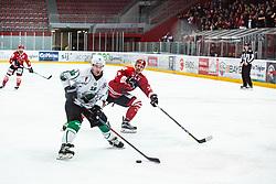 Urban SODJA during Alps League Ice Hockey match between HDD SIJ Jesenice and HK SZ Olimpija on March 2, 2020 in Ice Arena Podmezakla, Jesenice, Slovenia. Photo by Peter Podobnik / Sportida