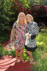 VANESSA FELTZ and her daughter ALLEGRA at the 2011 RHS Chelsea Flower Show VIP & Press Day at the Royal Hospital Chelsea, London, on 23rd May 2011.