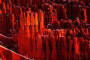 Image of Bryce Canyon National Park, Utah, American Southwest, Rock formation called Wall Street by Andrea Wells