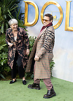 Robert Downey Jr. and Emma Thompson   at the 'Dolittle' - Special Screening at Cineworld Leicester Square in London, England. Saturday 25th January 2020