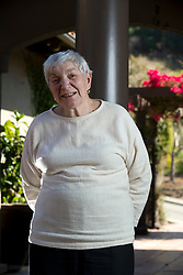 Ilene Weinreb poses for a photo at her Oakland, Calif. home, Thursday, Oct. 1, 2015. Weinreb, 83, was the first woman elected mayor of nearby Hayward, Calif., during the late 1970s. She'll be given a lifetime achievement award in Hayward at a ceremony next week. (D. Ross Cameron/Bay Area News Group)