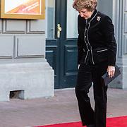 NLD/Amsterdam/20150926 - Afsluiting viering 200 jaar Koninkrijk der Nederlanden, aankomst prinses Margriet