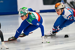 Short tracker Arianna Fontana ITA in action on the 1500 meter semifinals during ISU European Short Track Speed Skating Championships 2020 on January 25, 2020 in Fonix Hall, Debrecen, Hungary