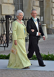 Princess Christina Magnuson and Tord Magnuson attend the wedding of Princess Madeleine of Sweden and Christopher O'Neill hosted by King Carl Gustaf XIV and Queen Silvia at The Royal Palace in Stockholm, Sweden, June 8, 2013 . Photo by Schneider-Press / i-Images. .UK & USA ONLY