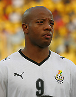 Photo: Steve Bond/Richard Lane Photography.<br /> Ghana v Morocco. Africa Cup of Nations. 28/01/2008. Junior Agogo of Ghana & Nottingham Forest
