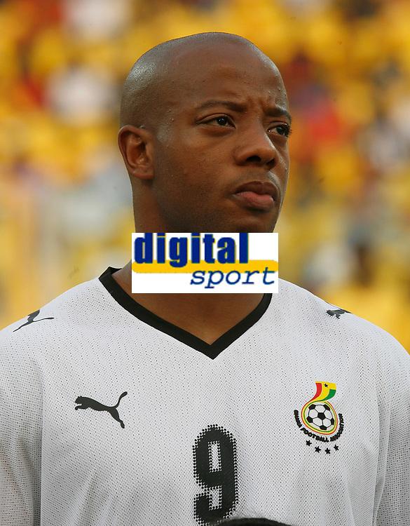 Photo: Steve Bond/Richard Lane Photography.<br /> Ghana v Morocco. Africa Cup of Nations. 28/01/2008. Junior Agogo of Ghana & Nottingham Forest