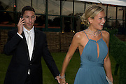 CHRISTIAN CANDY; EMILY CROMPTON, Royal Parks Foundation Summer party. Gala evening, sponsored by Candy & Candy on behalf of One Hyde Park. Hyde Park. London. 10 September 2008 *** Local Caption *** -DO NOT ARCHIVE-© Copyright Photograph by Dafydd Jones. 248 Clapham Rd. London SW9 0PZ. Tel 0207 820 0771. www.dafjones.com.