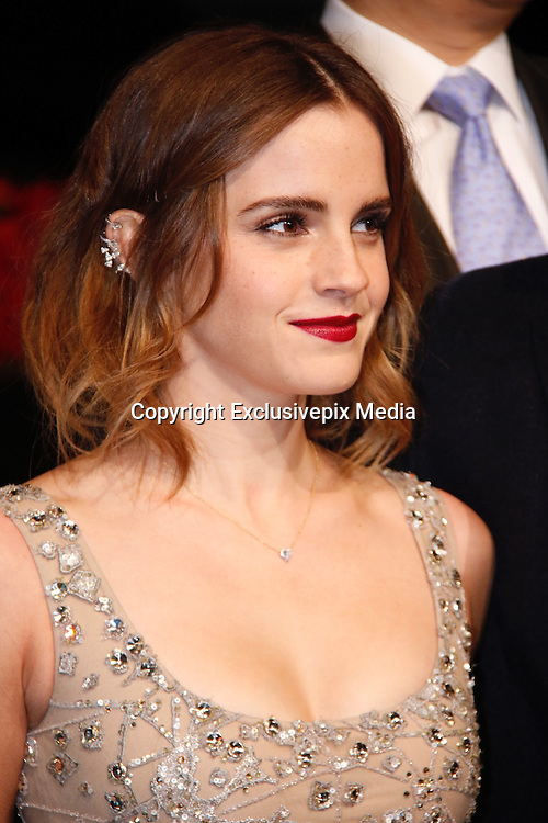 """SHANGHAI, CHINA - FEBRUARY 27: <br /> <br /> British actress Emma Watson attends the premiere of American director Bill Condon\'s film \""""Beauty and the Beast"""" at Walt Disney Theatre on February 27, 2017 in Shanghai, China. <br /> ©Exclusivepix Media"""