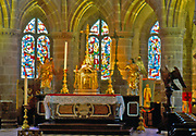 France, Normandy. Granville Int. Eglise Notre-Dame