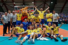 20190918 NED: EC Volleyball 2019 Ukraine - Estonia, Amsterdam
