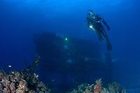 Evening Dive at the Aquarius Habitat